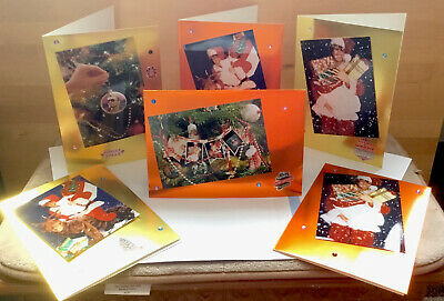 George Michael Christmas Cards X6 In Each Set • 12£
