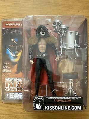 KISS McFarlane Figures Toy Eric Carr The Fox Action Figure Creatures Memorabilia • 30£