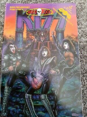 Kiss Comic Hard Rock. Part 2 Of 3. Ace Frehley  • 5£
