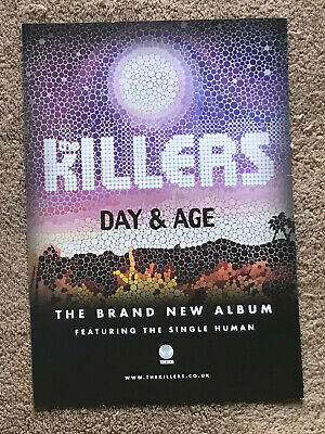 THE KILLERS - DAY & AGE 2009 Full Page UK Magazine Ad  • 3.95£