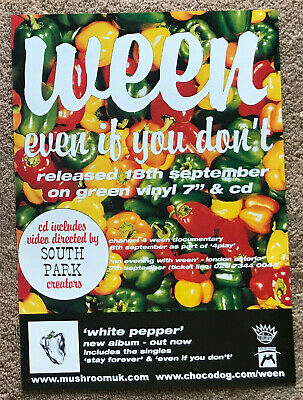 WEEN - EVEN IF YOU DON'T 2000 Full Page UK Magazine Ad  • 3.95£
