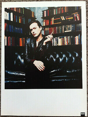 BRETT ANDERSON - 1990s Full Page UK Magazine Poster SUEDE • 3.95£