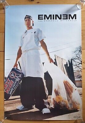 Eminem The Marshall Mathers LP Record Store Promotional Poster Ultra Rare  • 125£