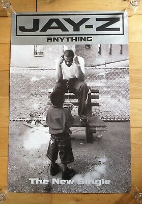 Jay-Z Anything Promotional Poster Ultra Rare  • 49.95£