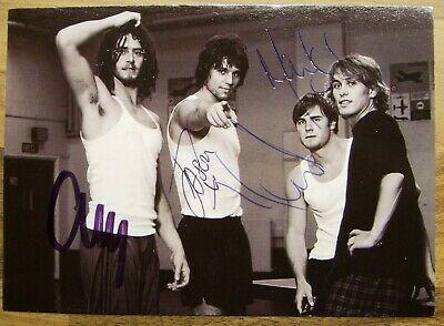 Four Postcards Signed By Various Members Of Take That • 300£