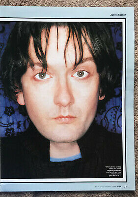 JARVIS COCKER - 1999 Full Page UK Magazine Poster PULP • 3.95£