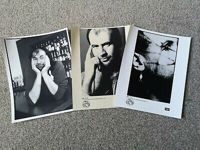 Official Press/Promo Photo Bundle For FISH (Marillion) Circa 1989 • 9.99£