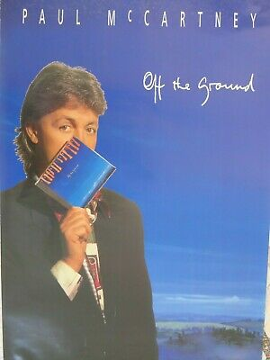 Paul McCartney Off The Ground Poster (51x76cm) • 10£