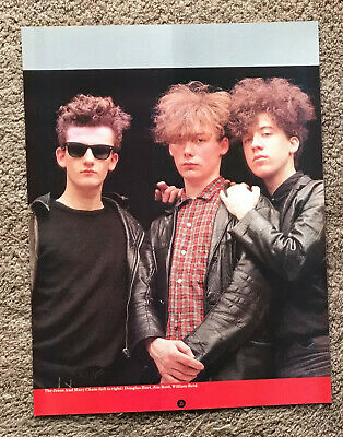 JESUS AND MARY CHAIN - 1985 Full Page UK Magazine Poster • 3.95£