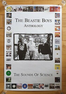 The Beastie Boys The Sounds Of Science Original Record Store Promo Poster Ultra • 34.95£