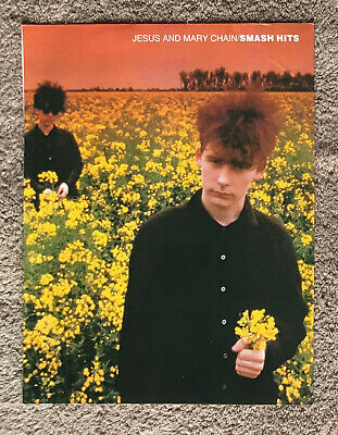 JESUS AND MARY CHAIN - 1986 Full Page UK Magazine Poster • 3.95£