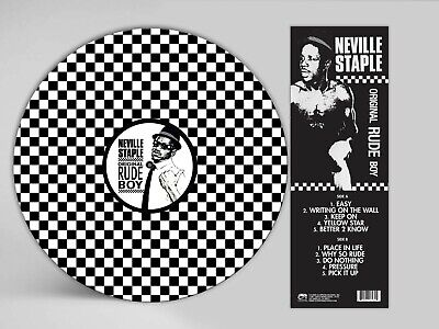 **autographed** 2tone Ska Picture Disc From The Specials Rude Boy Neville Staple • 35£