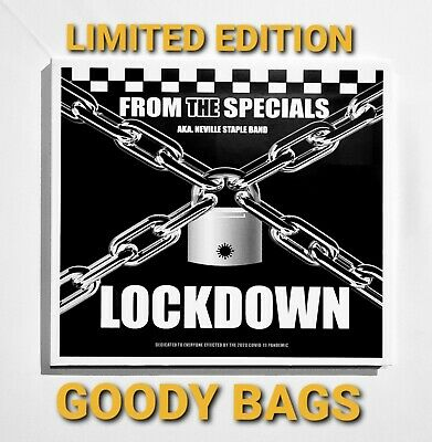 Vinyl Record 45 & Cd  Lockdown Goodybags From The Specials Neville Staple Signed • 15£