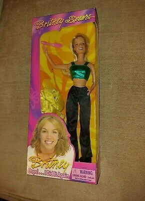 BNIB Britney Spears Crazy Doll - Oops! I Did It Again Range From 2000 Play Along • 55£