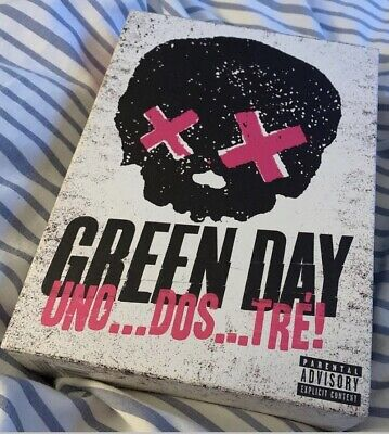 Green Day UNO! DOS! TRE! Trilogy Collector's CD Box-Set • 25£