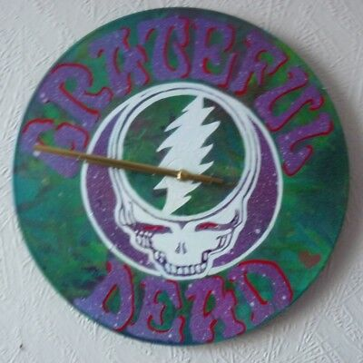 GRATEFUL DEAD  Record Wall Clock.. • 21.50£