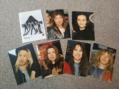 Official Press/Promo Photo Bundle For IRON MAIDEN -Mid 90s • 20£