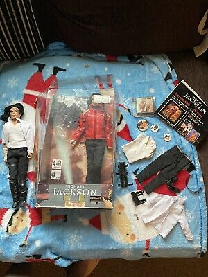 Michael Jackson Dolls/figures X2 With Accessories • 20£