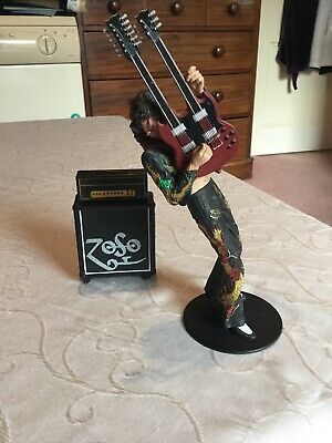 Jimmy Page Playing Guitar In Dragon Suit Amps Classicberry  Neca 2006 Figure • 14.50£