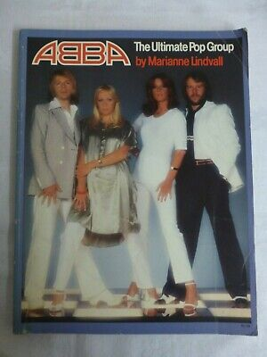 ABBA The Ultimate Pop Group By Marianne Lindvall - Hurtig, Paperback, 1977 • 10£