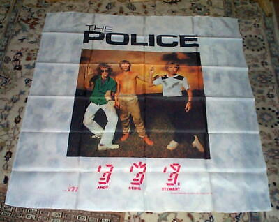 THE POLICE Ghost In Machine Group Vintage Giant Tapestry  • 17.03£