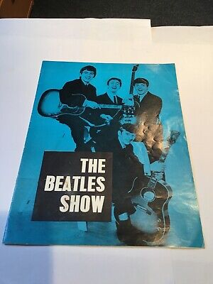 The Beatles Original Concert Programme From Gaumont Theatre, Bournemouth 1963. • 39.99£