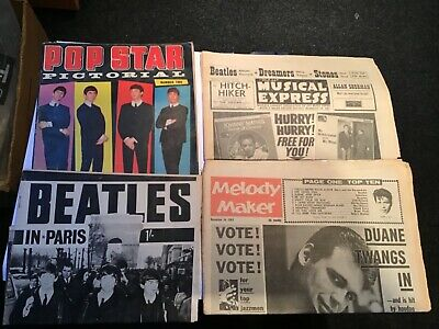 Beatles Magazine And Papers 1963 4 Off. • 7.99£