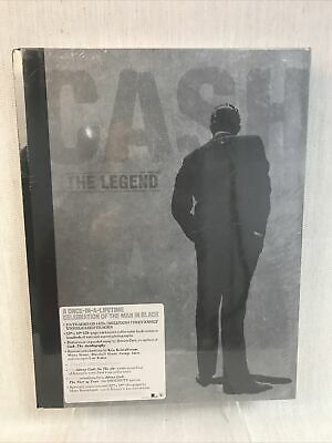 Johnny Cash: Cash The Legend- Limited Numbered Edition Of 20,000 Wordwide • 80£