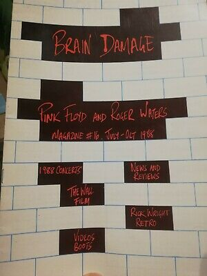 Pink Floyd Brain Damage Fanzine • 3.50£