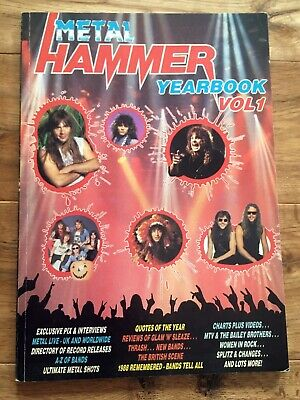 Metal Hammer Yearbook Vol.1 1988 • 4£
