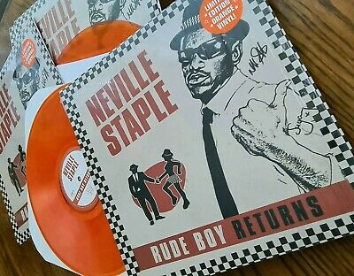 Signed Lp Cd Dvd From The Specials Rude Boy Returns Neville Staple 2tone Ska • 14.99£