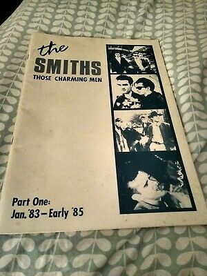 The Smiths Book Rare Those Charming Men Part One Jan '83-early '85 • 15£