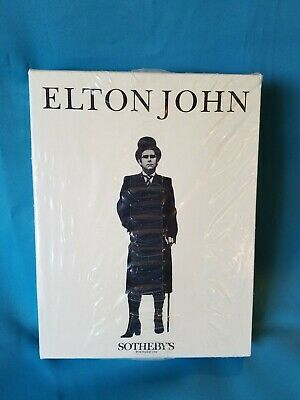 SEALED Elton John Sotheby's Auction Catalogue 4 Volumes Collection  1988  MINT  • 393.39£