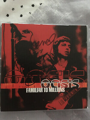 Liam And Noel Gallagher Signed Oasis Familiar To Millions Cd Album • 60£