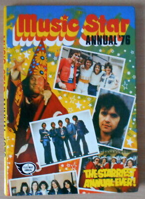 Music Star Annual. 1976.- Slade, Mud, Rollers, Essex. Retro Pop Music. 1970s. • 6.99£