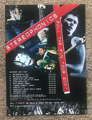 STEREOPHONICS - TOUR DATES 2007 Full Page Magazine Ad • 3.95£