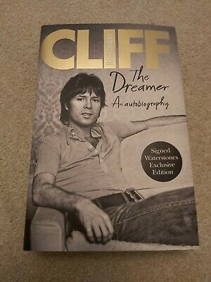 NEW Cliff Richard First Edition SIGNED Autobiography - The Dreamer (Hardback) • 80£