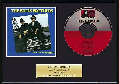 BLUES BROTHERS / THE BLUES BROTHERS - Framed CD Presentation Disc Display • 19.99£