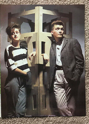 EVERYTHING BUT THE GIRL - 1984 Full Page UK Magazine Poster • 3.95£
