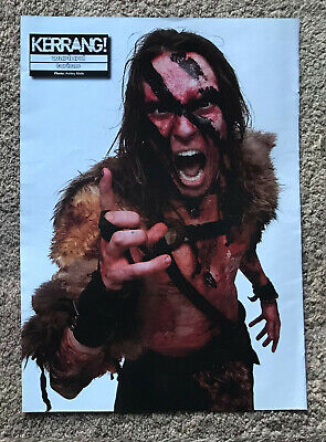 WARLORD / TURISAS - 2007 Full Page UK Magazine Poster • 3.95£
