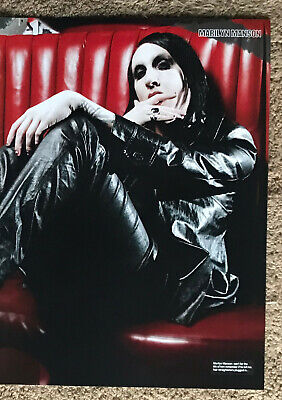 MARILYN MANSON ~ 2007 Full Page UK Magazine Poster  • 3.95£
