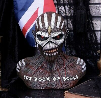 Iron Maiden Book Of Souls Bust Box 26cm B5268S0 Officially Licensed Eddie Rock • 59£