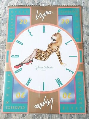 Kylie Minogue Kylie Classics Official Calendar 2020 Brand New And Sealed Disco  • 12.50£