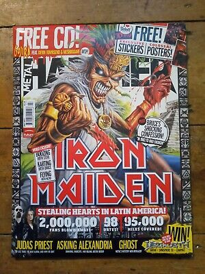 Metal Hammer 2011 + Stickers, Posters & Free CD • 20£