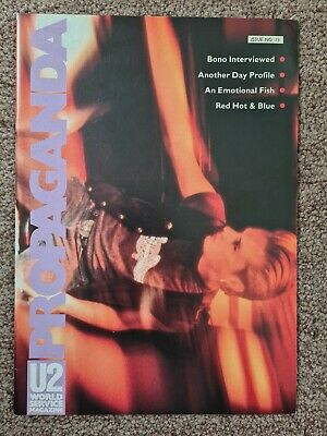 U2 Propaganda World Service Magazine No 13: 1990 • 9.99£
