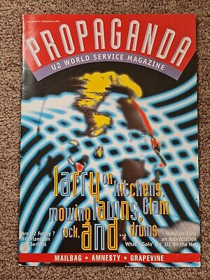U2 Propaganda World Service Magazine No 22: 1995 • 9.99£