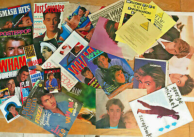 Job Lot Of Wham George Michael Andrew Ridgeley 1980's  • 4.99£