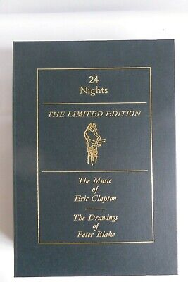 Eric Clapton 24 Nights Book (UK) - Genesis Publications Limited Edition • 859£