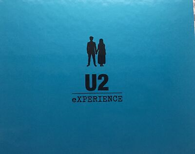 Official U2 Experience/Innocence 2018 Tour Collector Book Certificate / Ticket • 45£
