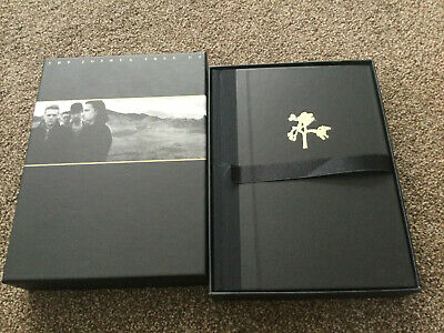 U2 The Joshua Tree Remastered Ltd Edition Book CD DVD & Photographic Prints 2007 • 18£